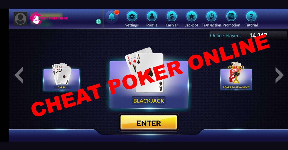 CHEAT POKER ONLINE